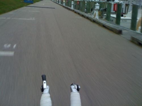 Riding Falmouth...