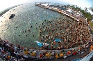 Swim Start Ironman Kona